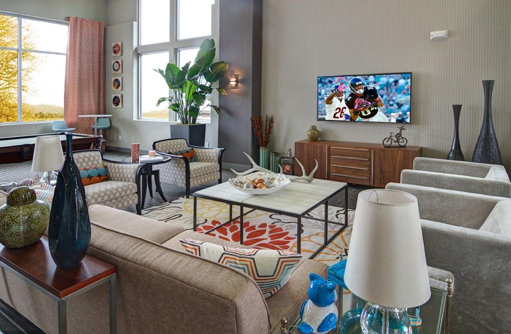 Sandpiper Apartments Living Room